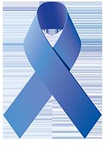 DARM life STYLE - Darmkrebs Blaue Schleife