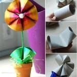 Klorollen-Challenge - Blume