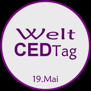 Logo Welt CED-Tag 19. Mai