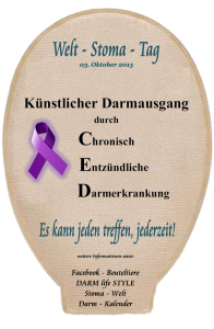 Welt-Stoma-Tag 2015 - CED
