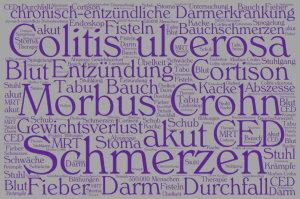 Motiv 1 - CED Schriften lila