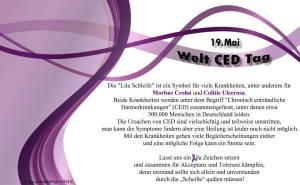 Motiv 4 - Welt-CED-Tag Spruch