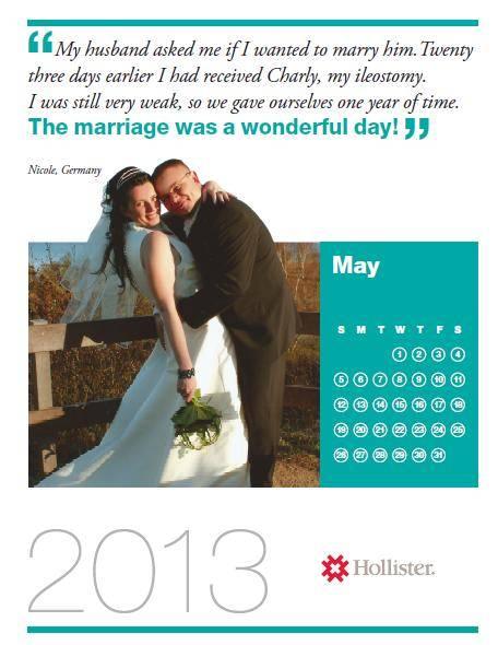 Kalender Hochzeit von Nicole