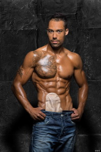 Prominenter Fitness-Model Blake Beckford