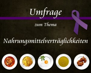Umfrage über Nahrungsmittelunverträglichkeiten bei CED