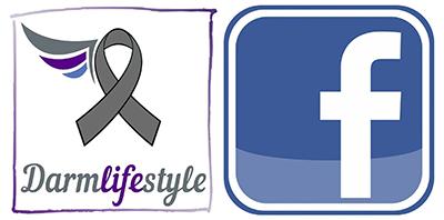 Facebook Icon und Darmlifestyle Logo